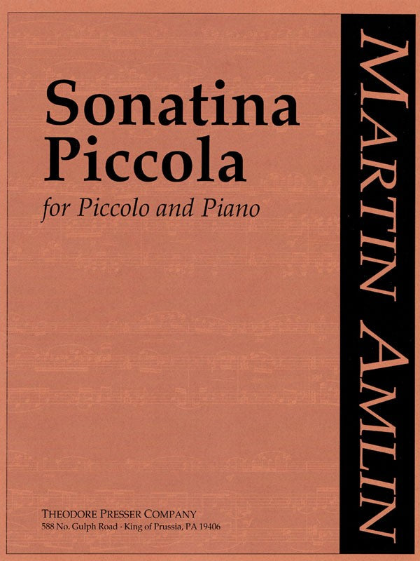 Sonatina Piccola (Piccolo and Piano)