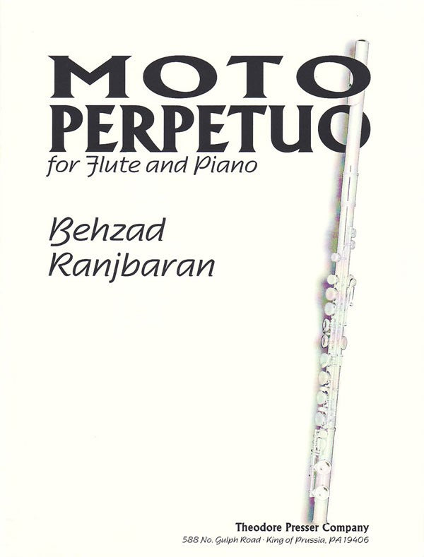 Moto Perpetuo (Flute and Piano)
