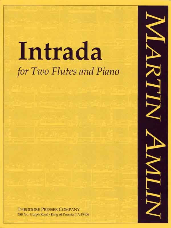 Intrada (Two Flutes and Piano)
