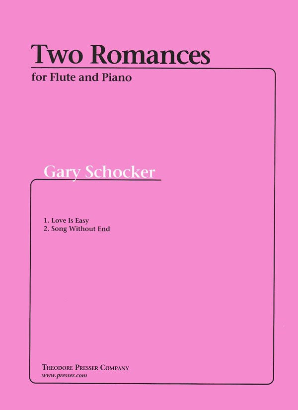 Two Romances (Flute and Piano)