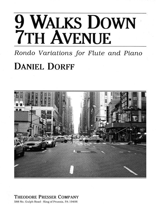 9 Walks Down 7th Avenue (Flute and Piano)