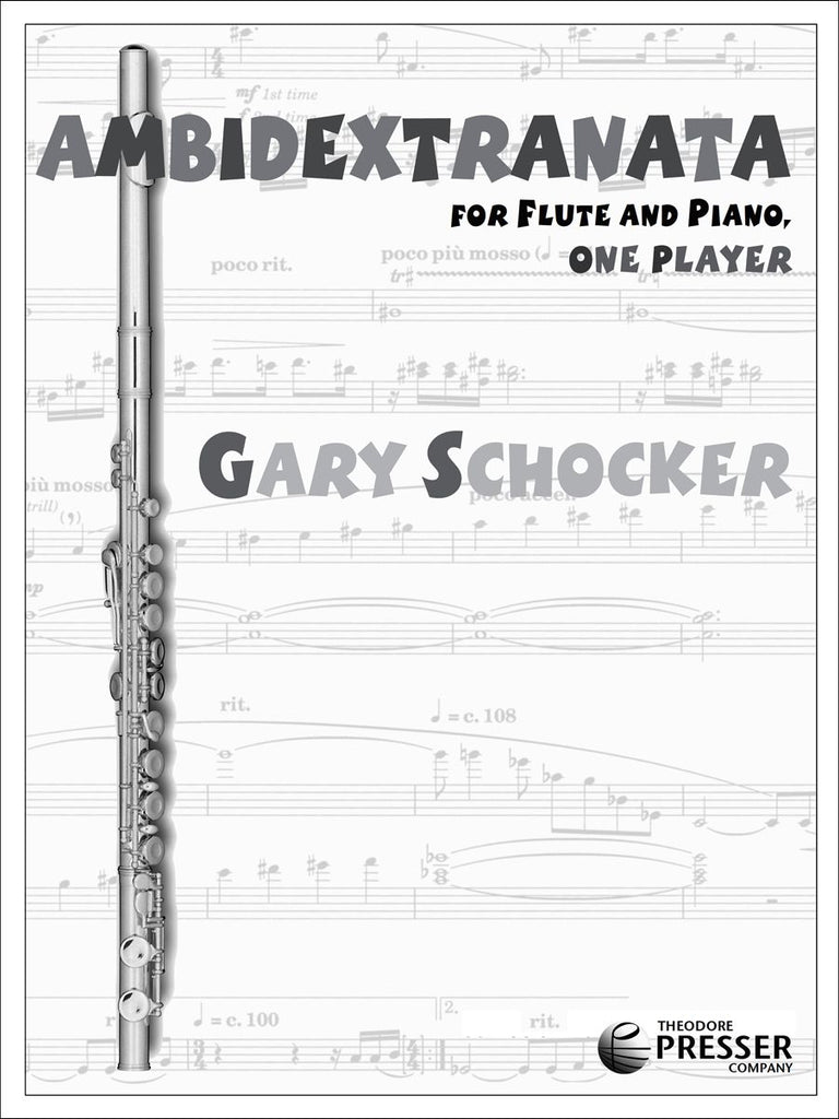 Ambidextranata For Flute and Piano, One Player