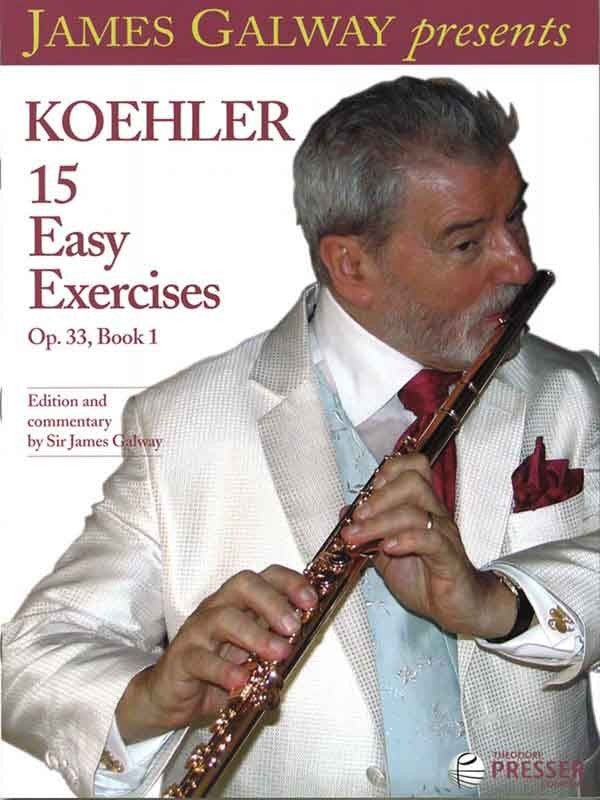 Koehler: 15 Easy Exercises, Op. 33 Book 1 (Etudes)