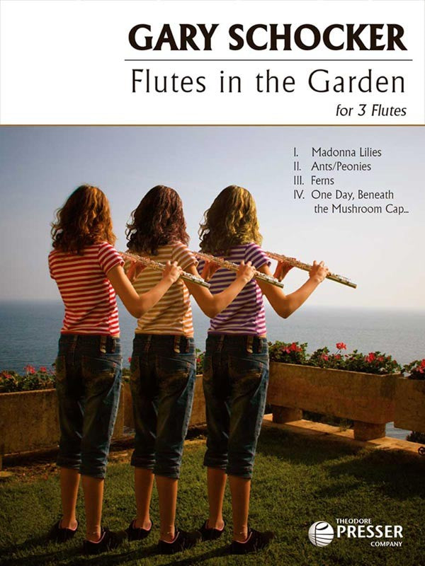 Flutes In The Garden (Three Flutes)