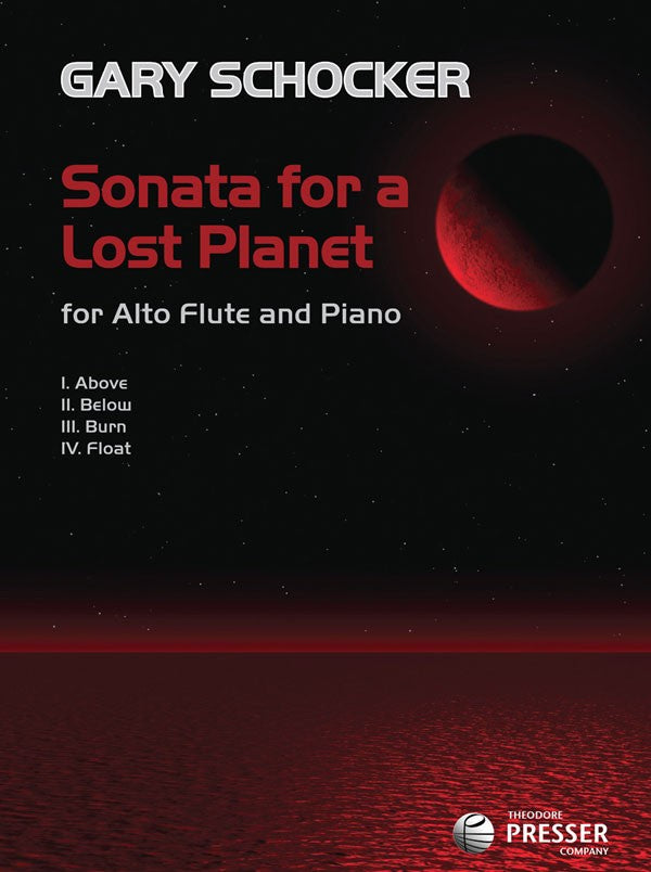Sonata for A Lost Planet (Alto Flute and Piano)