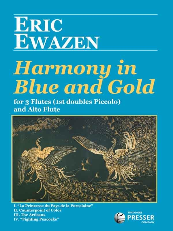 Harmony In Blue and Gold (Four Flutes)