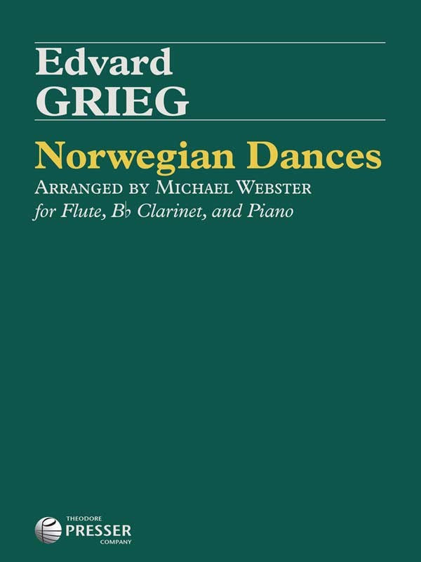 Norwegian Dances, Op. 35 (Flute and Clarinet)