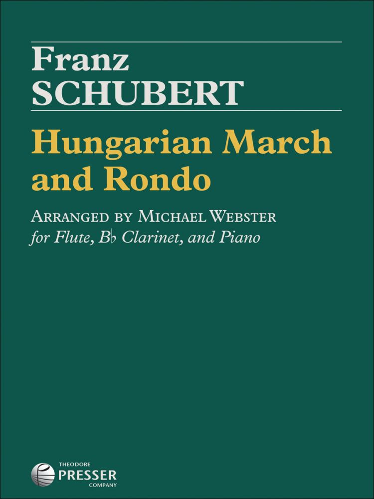 Hungarian March and Rondo (Flute, B♭ Clarinet and Piano)