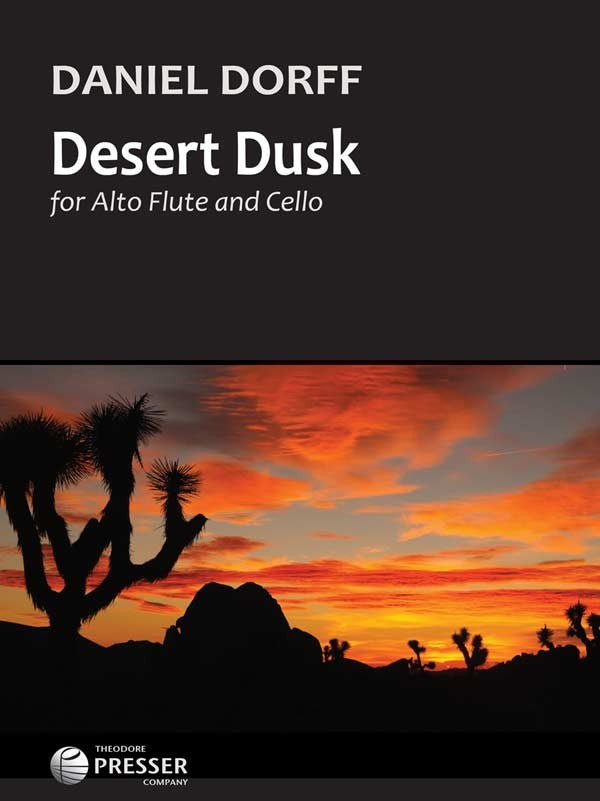 Desert Dusk (Alto Flute and Cello)