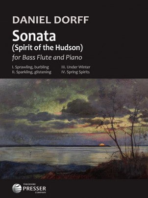 Sonata - Spirit of the Hudson (Bass Flute and Piano)