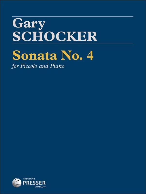 Sonata No. 4 for Piccolo (Piccolo and Piano)