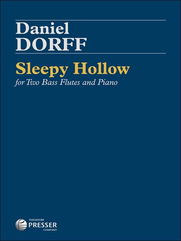 Sleepy Hollow (2 Bass Flutes and Piano)