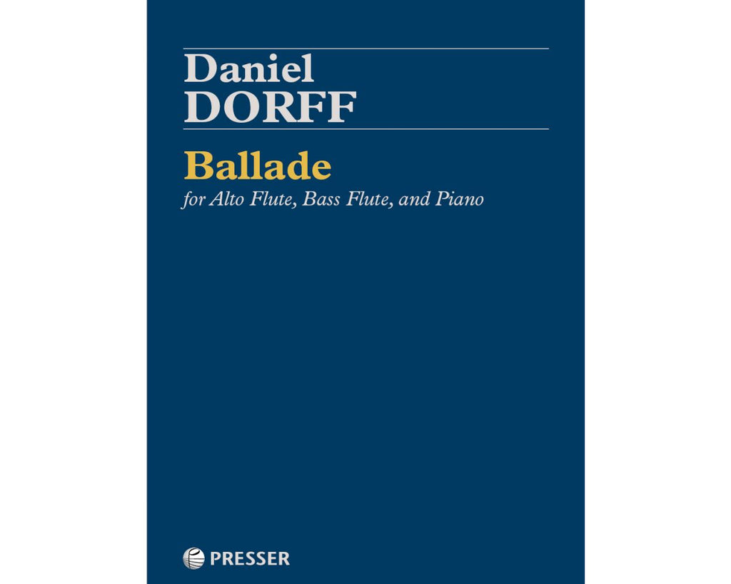 Ballade (Alto Flute, Bass Flute, and Piano)