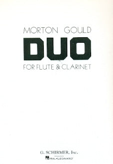 Duo (Flute and Clarinet)