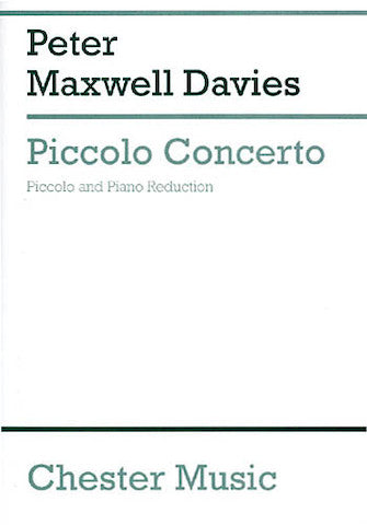 Piccolo Concerto (Piccolo and Piano)