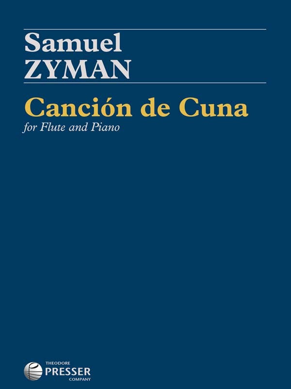 Cancion de Cuna (Flute and Piano)