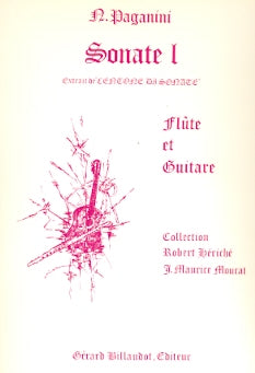 Sonate No. 1 (Flute and Guitar)