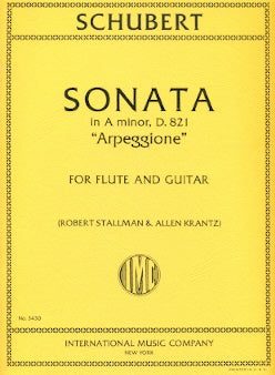 "Sonata in A minor, ""Arpeggione"", D 821 (Flute and Guitar)"