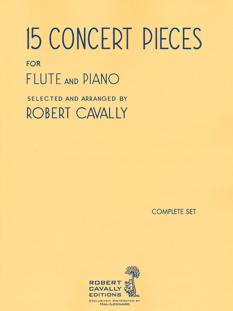 15 Concert Pieces (Flute and Piano)
