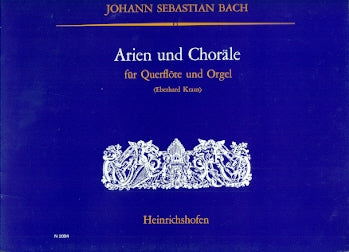 Arias and Chorales (Flute and Organ)