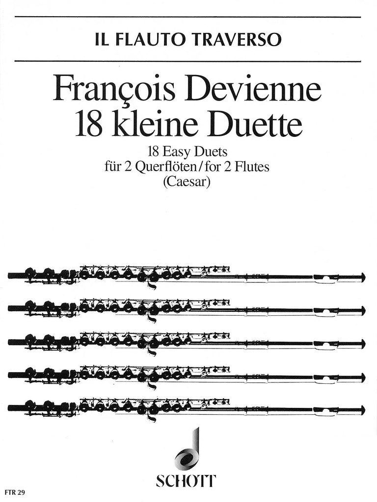 18 Easy Duets (Two Flutes)