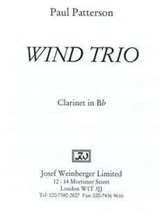 Wind Trio, Op. 4 (Mixed Woodwinds)