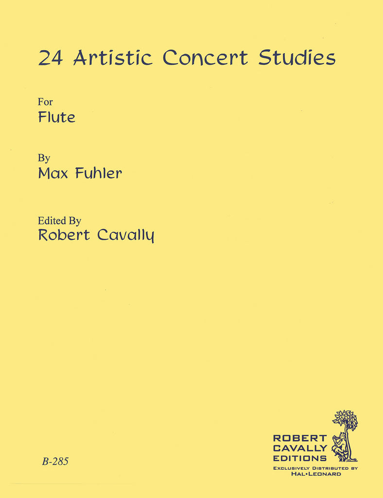 24 Artistic Concert Studies (Studies and Etudes)