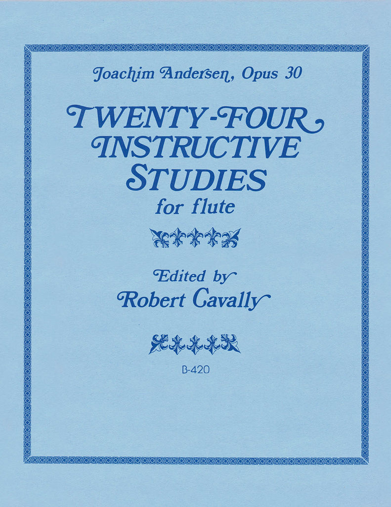 24 Instructive Studies for Flute, Op. 30