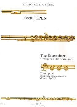 The Entertainer - L'Arnaque (Flute, Violin, Viola, Cello)
