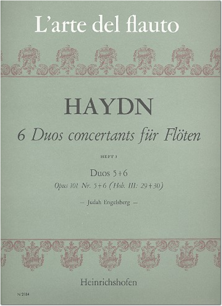 Duos Concertants (6) Op. 101 Vol. 3: Nos. 5 & 6 (Two Flutes)