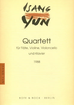 Quartet for Flutes (1986) (Performance Score)