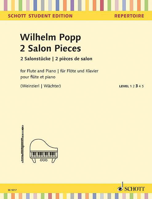 2 Salon Pieces (Flute and Piano)