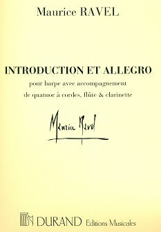 Introduction and Allegro (flute, clarinet, harp, strings)