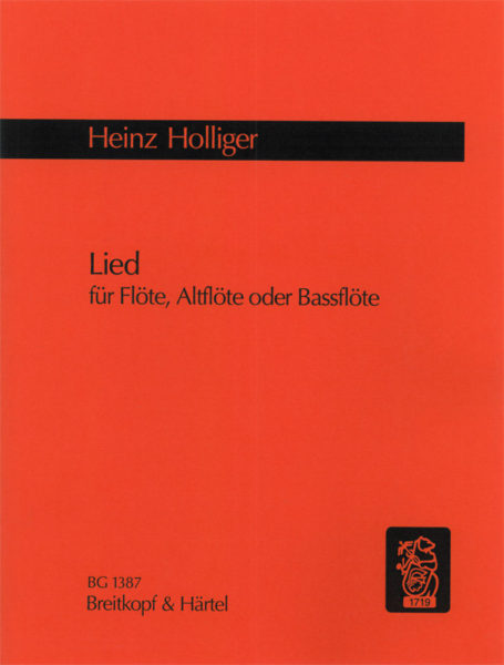 Lied (Flute Alone)