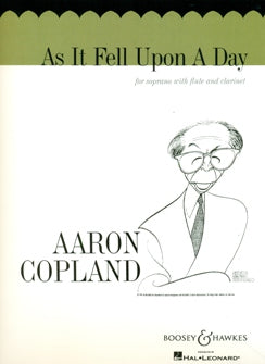 As It Fell Upon a Day (Soprano, Flute, Clarinet)