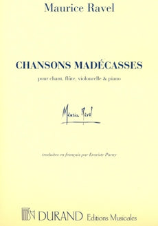 Chansons Madécasses (voice, flute, cello, piano)