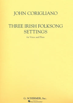 Three Irish Folksong Settings (flute and voice)