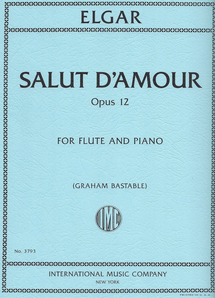 Salut D'Amour, Opus 12 (Flute and Piano)