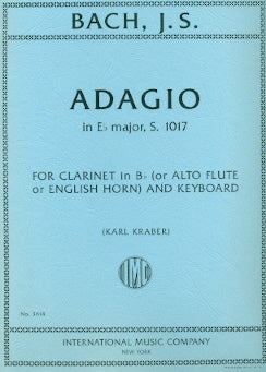 Adagio in E-Flat Major, BWV1017 (Alto Flute and Piano)