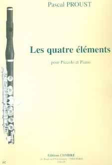 Les Quatre Elements (Piccolo and Piano)