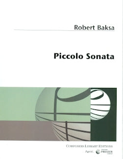Piccolo Sonata (Piccolo and Piano)
