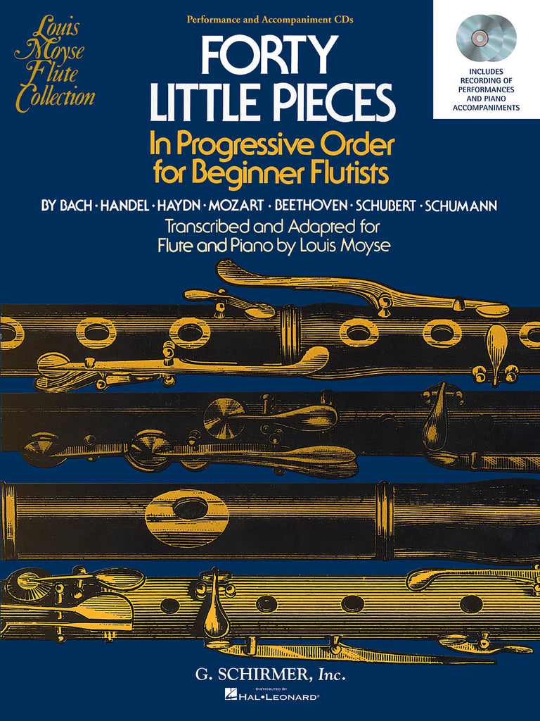 40 Little Pieces  (CD Accompaniment Only)