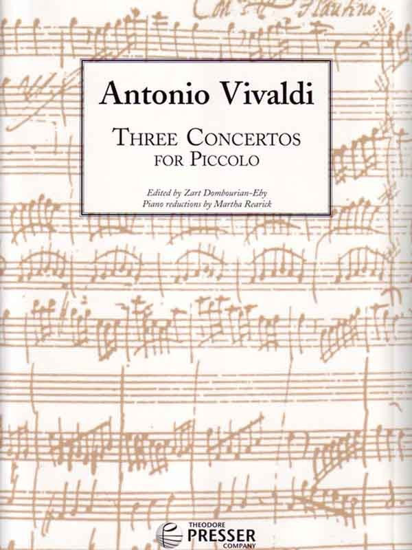 Three Concertos for Piccolo (Piccolo and Piano)