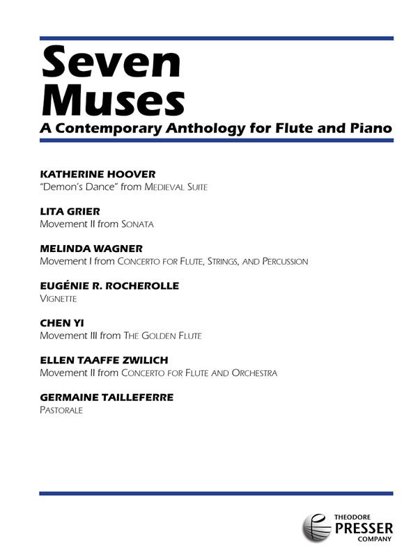 Seven Muses (Flute and Piano)