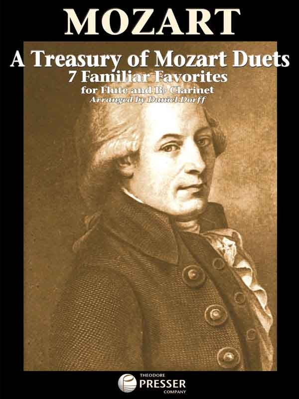 A Treasury Of Mozart Duets (Flute and Clarinet)