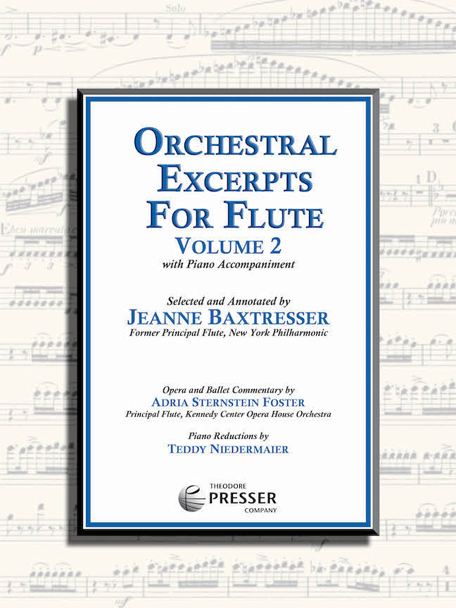 Orchestral Excerpts for Flute, Volume 2 (Baxtresser)