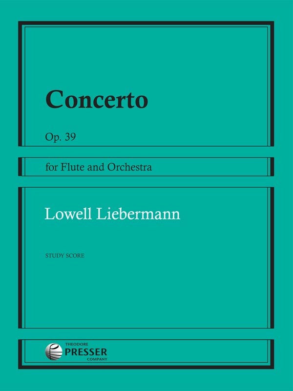 Concerto for Flute and Orchestra, Op. 39 (Full Score)