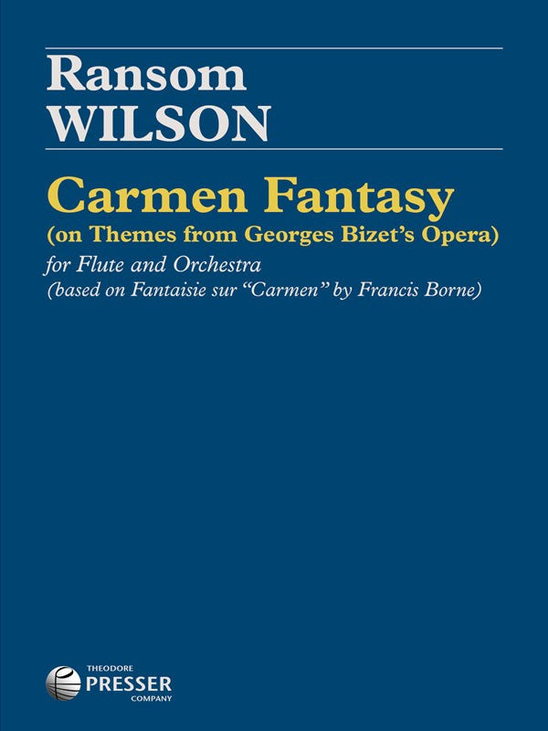 Carmen Fantasy (Flute and Piano)