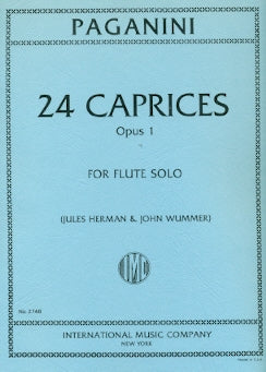 24 Caprices, Op. 1 (Flute Alone)