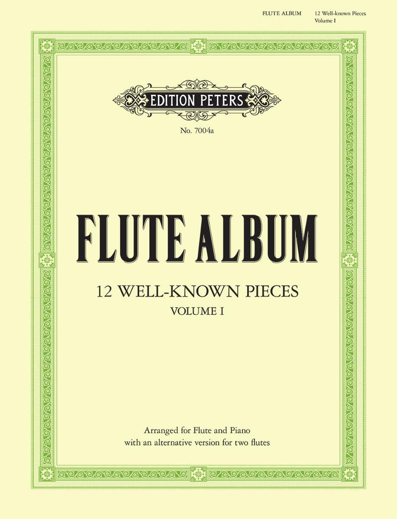 12 Well-known Pieces in 2 volumes - Vol. 1 (Flute and Piano)
